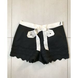 2b Rych Embroidered Scalloped Trim Shorts